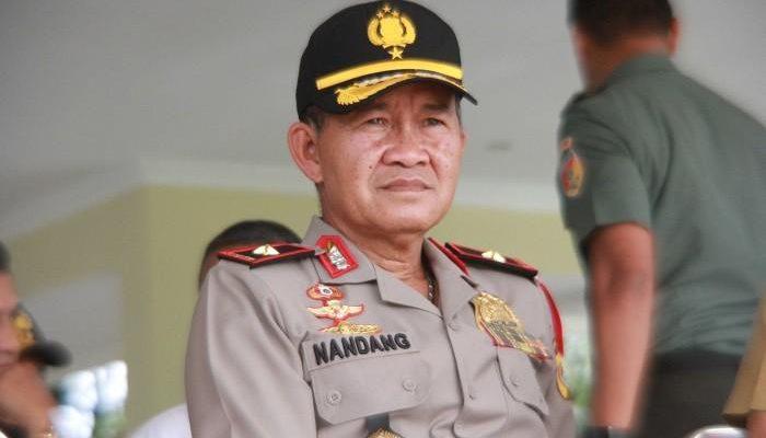 Kapolda Riau Dimutasi