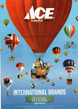 "Program Ace Hardware ""Internasional Brands Festival"", Solusi Belanja Cerdas"