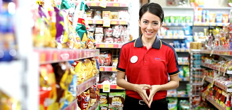 Alfamart di Pekanbaru Resmikan Rumah Albi