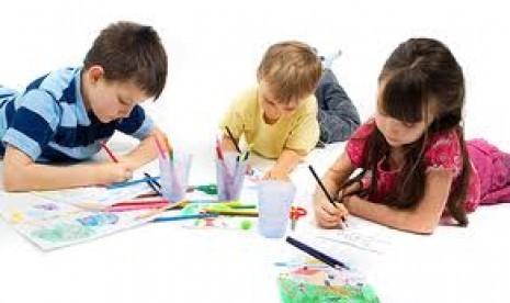 Inteligensi Anak Bisa Dilihat dari Gambar