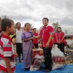 Honda Salurkan Bantuan untuk Korban Kebakaran di Bagan