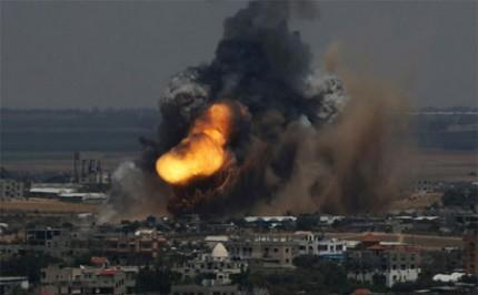 Israel Kembali Gempur Gaza Saat Gencatan Senjata