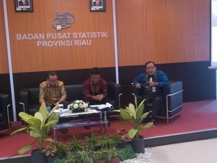 BPS Riau Sosialisasikan Perubahan Tahun Dasar PDB/PDRB