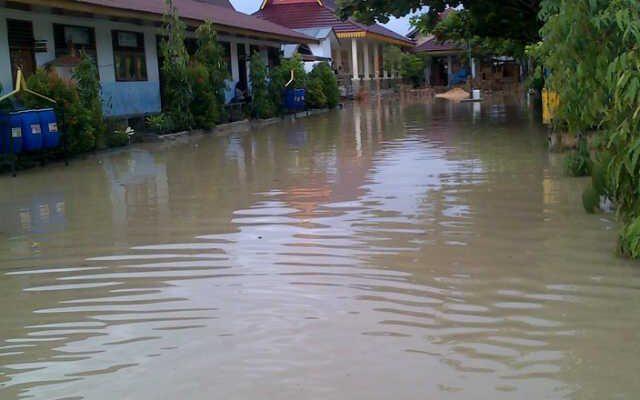 Setelah Asap Pergi, Datang Musibah Banjir di Riau