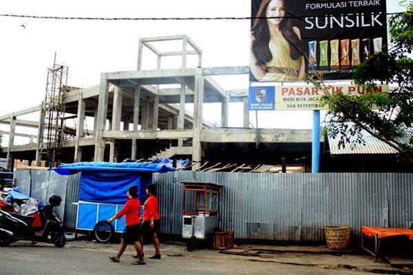 Pembangunan Pasar Cik Puan Stagnan