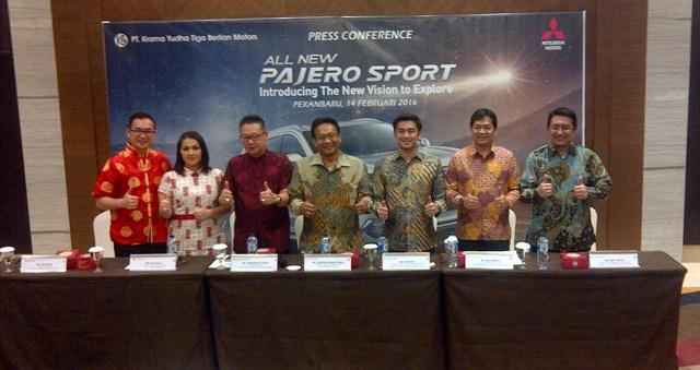 All New Pajero Sport Akhirnya Sapa Masyarakat Riau