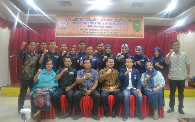 Disaksikan Dispora Riau, DPD PPMI Riau Dilantik