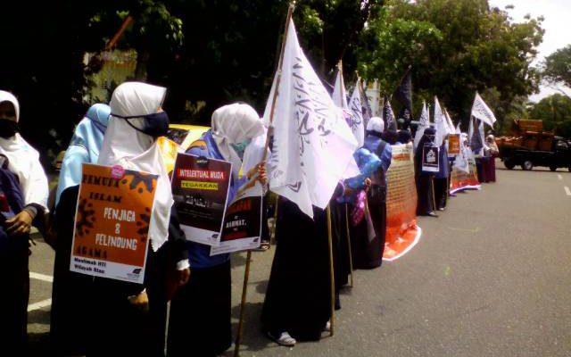 HTI Adakan Aksi Demo Himbauan Untuk Para Pemuda