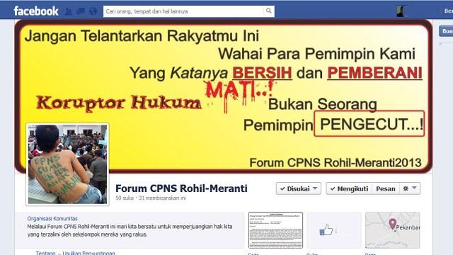 Forum CPNS Layangkan Surat Terbuka untuk Gubri