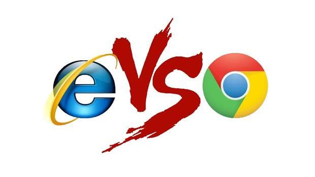 Google Chrome Geser Internet Explorer di AS