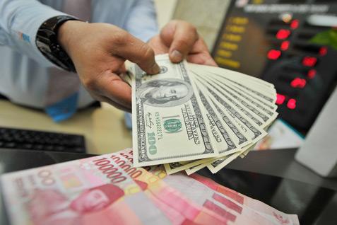 Melemah, Rupiah di Pekanbaru Berada di Rp 13.755/USD