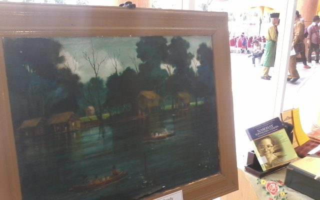 Lukisan mendiang Tennas Jadi Primadona