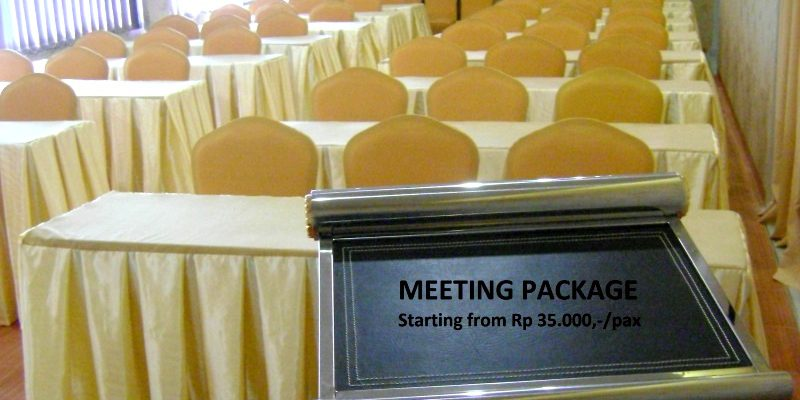 Paket Meeting Room Mulai Rp 35 Ribu