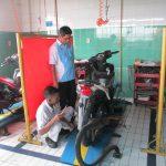 Mekanik Honda  Se-Riau Saling  Adu Kemampuan