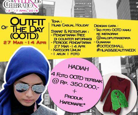 Fenomena #OOTD, Mal Ciputra Pekanbaru Gelar Kompetisi Outfit of The Day