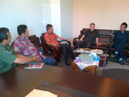 E&IB; Riau Sambangi Apindo dan Kadin Riau