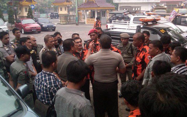 PP Protes Baliho Ketuanya Dicopot
