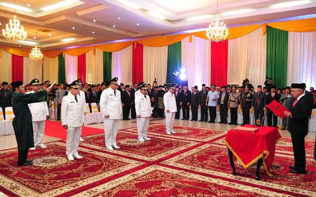 Empat Pejabat Riau Resmi Dilantik