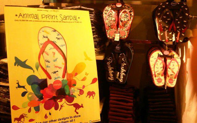 Sandal Animal Print Hanya Rp 25 Ribu