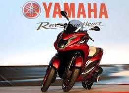 Skuter Tiga Roda Yamaha Siap Meluncur