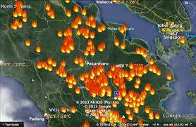 Titik Api Riau Masih Tertinggi di Sumatera