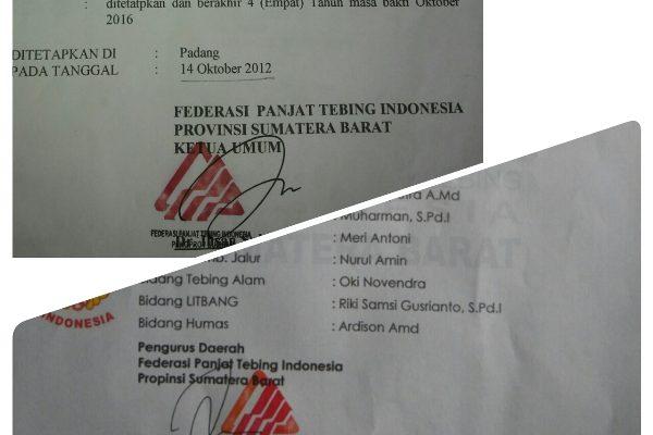 Pemalsuan Tandatangan, Ketua KONI : Kami Tetap Terima SK FPTI