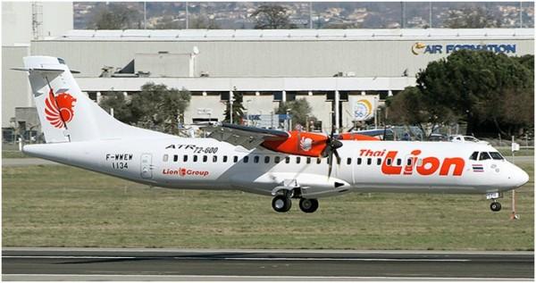 Thai Lion Air Akan Operasikan ATR 72-600 dari Hat Yai