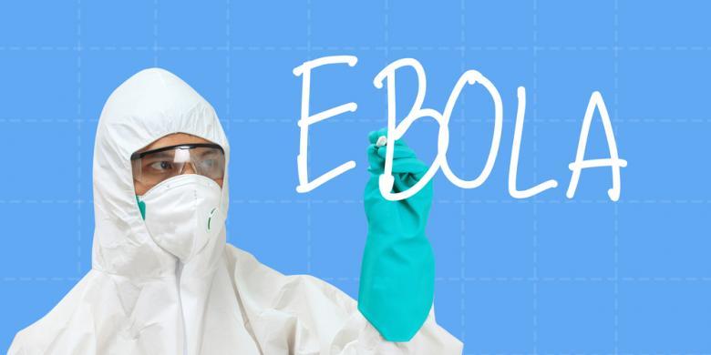 Penyebaran ebola lewat transportasi udara, rendah