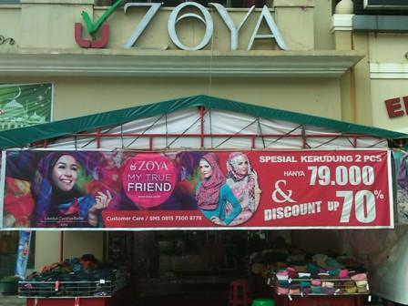 Daerah Ini Pilihan Bazar Cuci Gudang Zoya
