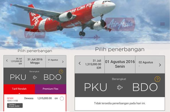 Ternyata Otoritas Bandara SSK II Tidak Tahu Air Asia Tutup Rute Pekanbaru-Bandung
