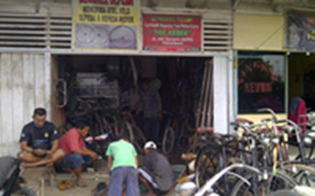 Ini Bengkel Resmi Sepeda Tua di Pekanbaru