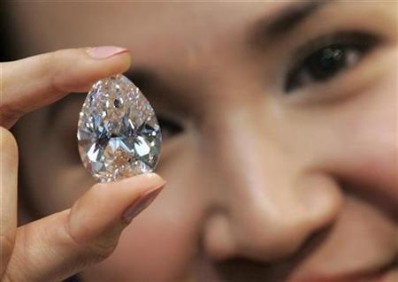 Wah, Berlian Sebesar Telur Rp 300 Miliar
