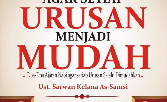 """Hidup Sukses Dengan Doa """"Berdoa lah sesuai al-Qur'an dan Sunnah"""""""