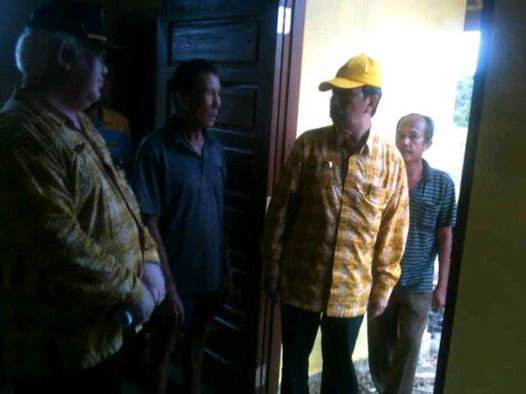 Jelang Pilkada, Bupati Siak Syamsuar Mulai 'Blusukan