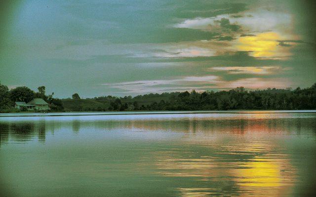 Danau Buatan, Nikmati Pemandangan Pekanbaru dari Atas