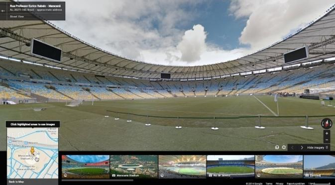 Jelajahi Stadion Piala Dunia Lewat Google Street