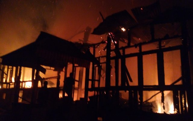 Berpelukan, Kakak Adik Jadi Korban Terbakarnya Rumah Gadang Di Payakumbuh