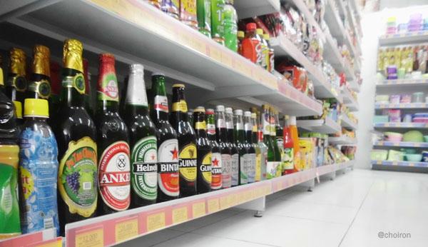 Empat Hari Lagi, Minimarket di Pekanbaru Bebas Bir