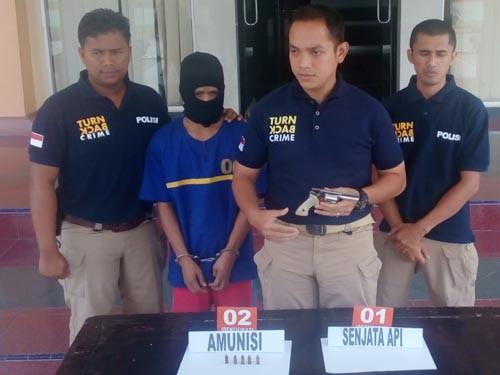 Pemilik Paket Sabu Seharga 20 Juta Diringkus Polres Siak