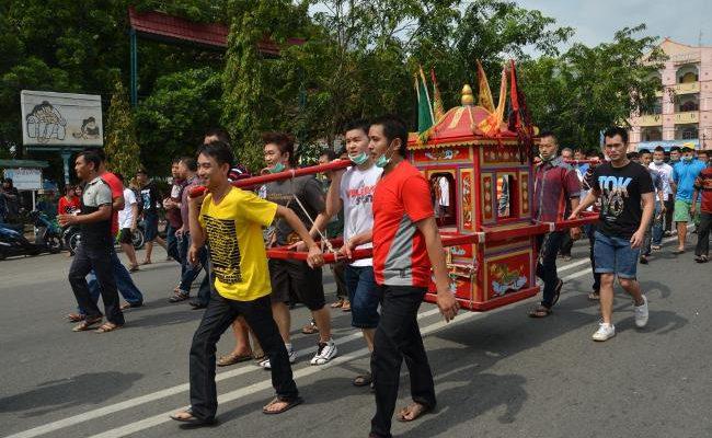 Ribuan Masyarakat Tionghoa Bengkalis Rayakan Chu Lak dengan Meriah