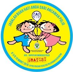 Jumlah Anak Divaksin Polio Lebihi Target di Bengkalis
