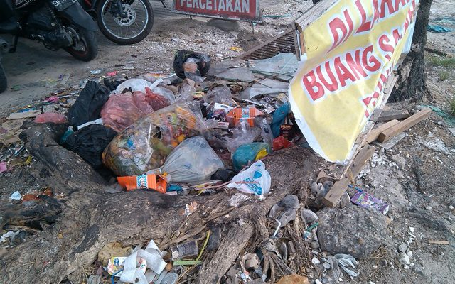 Pasca Lebaran, Tumpukan Sampah Lagi-lagi Bikin Resah