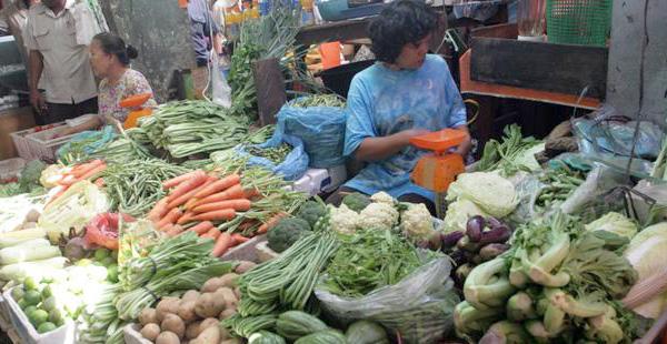 Harga Sayuran Lokal Naik