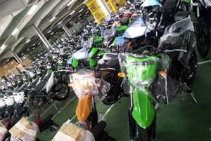 Tahun ini, ekspor sepeda motor RI menanjak 122%