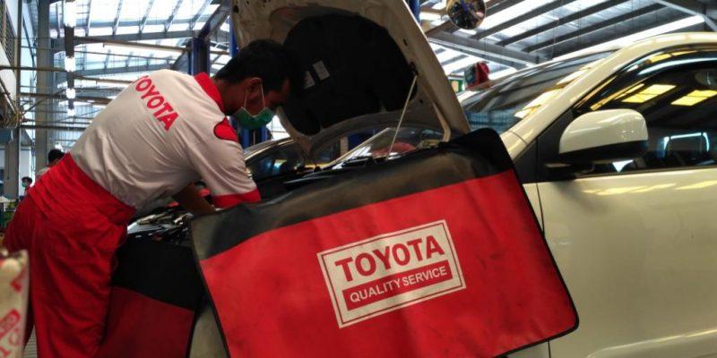 14 Hari Promo Servis, Bengkel Toyota Agung SM Amin Capai 1038 Unit
