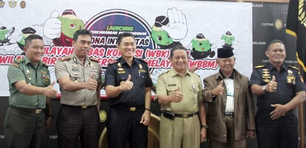 Pembangunan Zona Integrasi Bebas Korupsi, Pemkab Inhil Dukung KPPBC Tembilahan