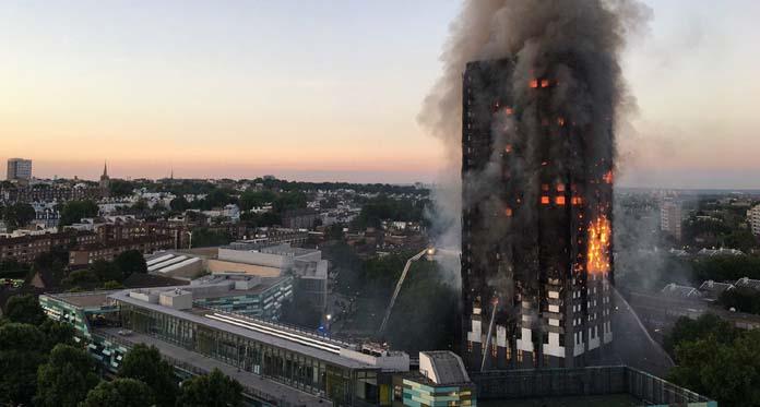 Apartemen Terbakar, Warga Muslim Sahur Selamatkan Korban Tewas