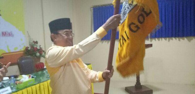 Berjuang Keras, HM Wardan Nahkodai Partai Golkar Inhil