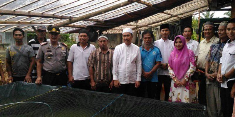 Bupati Siak Dukung Budidaya Lele Bioflok di Kampung Sialang Palas