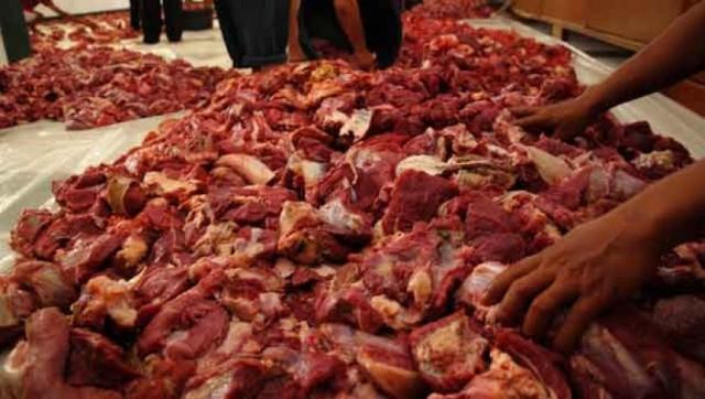 Masyarakat! Waspada Daging Oplosan di Riau
